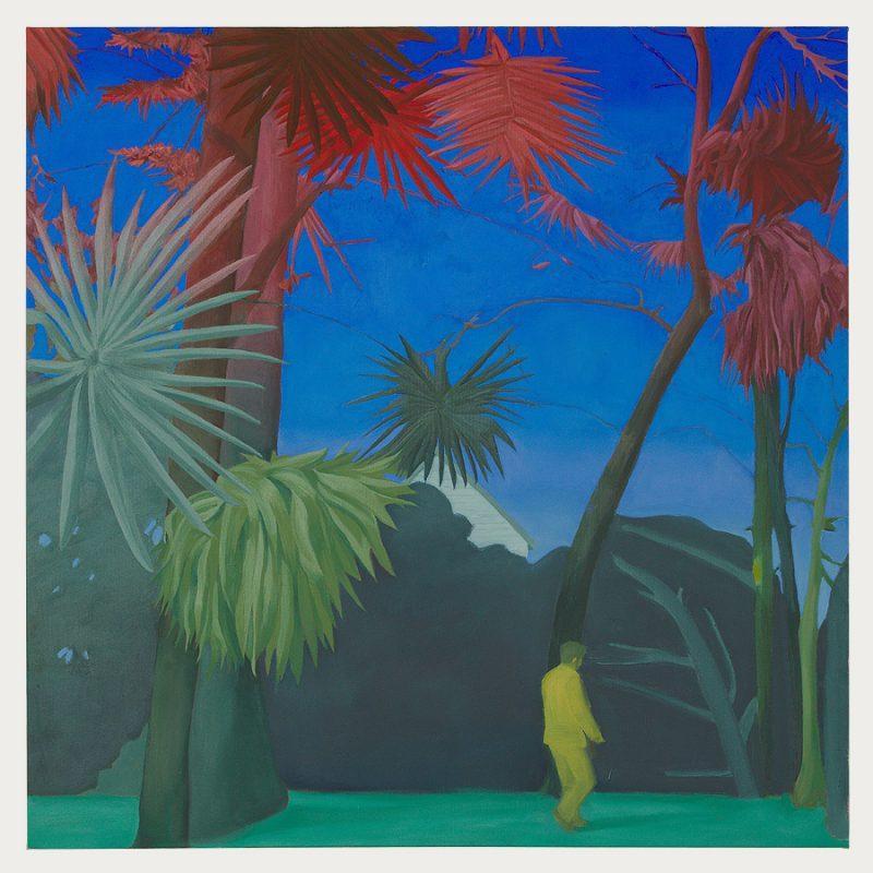 Danny Linwerk | Retiro | Öl auf Leinwand | 2018 | 100 x 100 cm