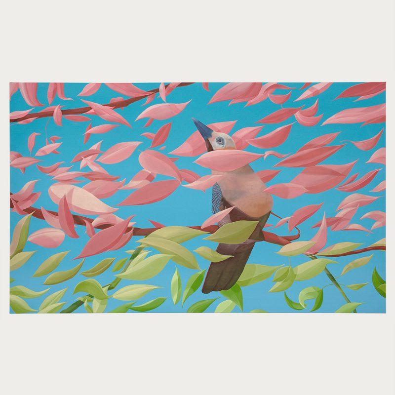 Danny Linwerk | Währenddessen | Öl auf Leinwand | 2018 | 105 x 170 cm