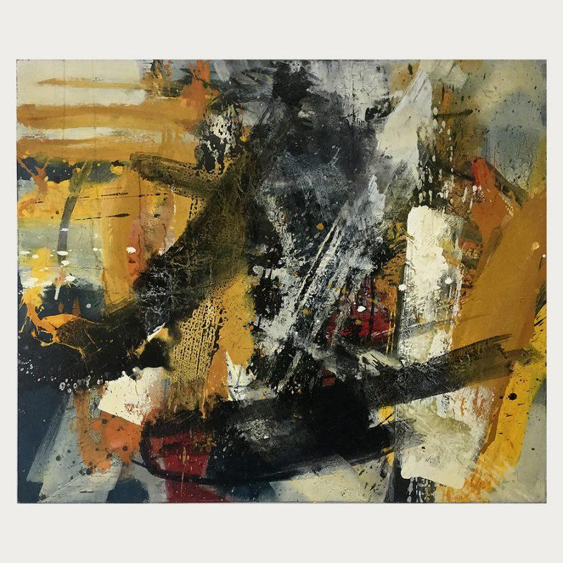 Georg Brandner | ohne Titel | Öl auf Leinwand | 1997/98 | 105 x 125 cm