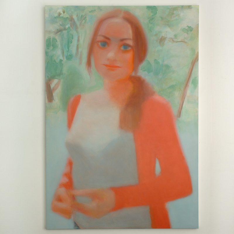 Jörn Grothkopp | Agatha 2 | Öl auf Leinwand | 2018 | 220 x 150 cm