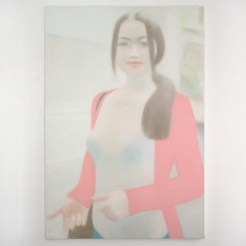 Jörn Grothkopp | Agatha | Öl auf Leinwand | 2013 | 220 x 150 cm