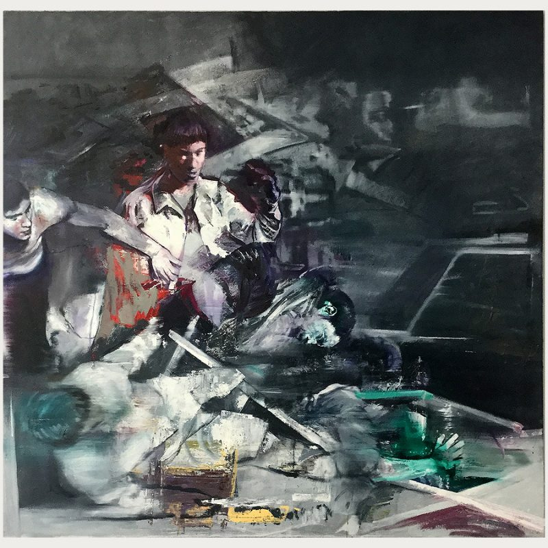 Martin Paul Müller | ohne Titel | Öl auf Leinwand | 2018 | 165 x 170 cm