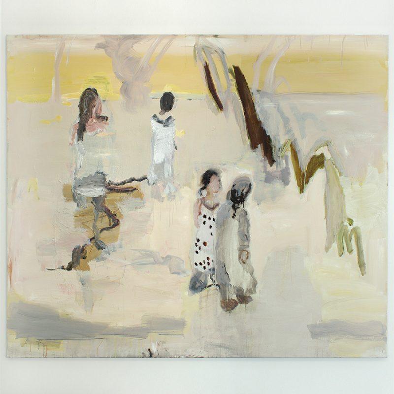 Ulrike Pisch | Milch und Honig | Öl auf Leinwand | 2018 | 120 x 140 cm
