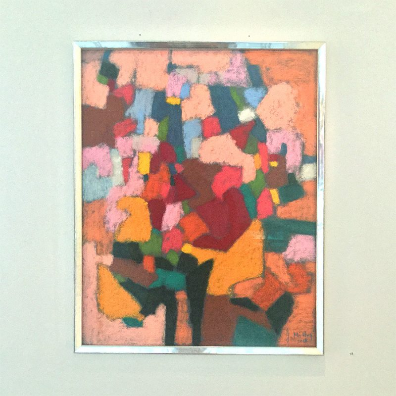 Johanna Mittag | Sommertag | Pastell auf Papier | 2018