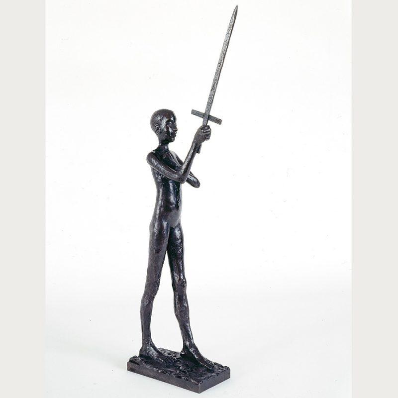 Hans Scheib | Engel | Bronze | 2000 | 54 x 18 x 7,5 cm