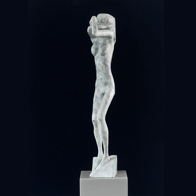 Hans Scheib | Mood Indigo | Bronze | 2011 | 106 x 16 x 30 cm