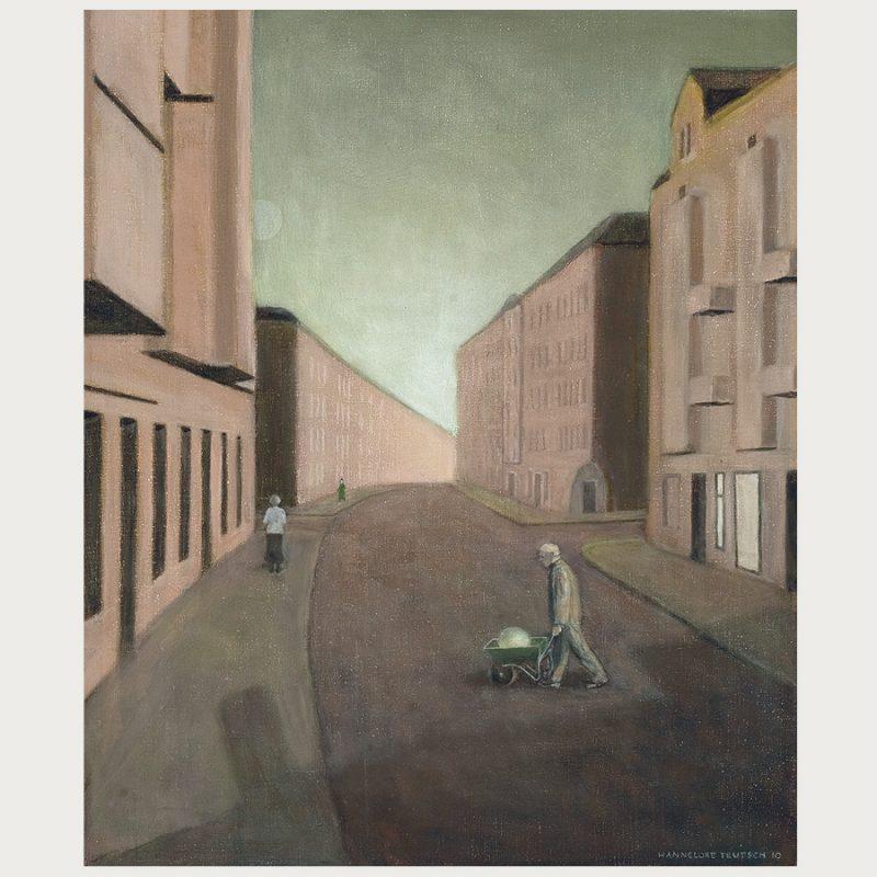 Hannelore Teutsch | Berliner Straße II | Öl auf Leinwand | 2010 | 60 x 50 cm