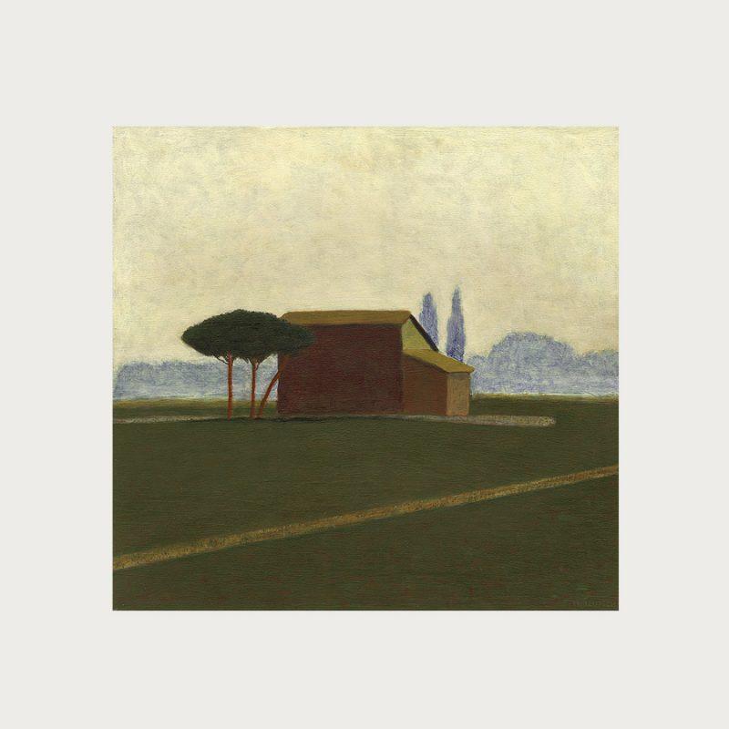 Hannelore Teutsch | Veneto I | Tempera auf Holz | 2002 | 46,5 x 49 cm